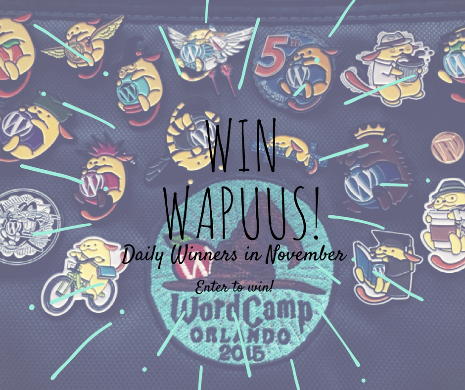 Win Wapuus, Daily winners in November.