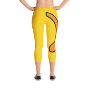 Wapuu Tail Capri Leggings