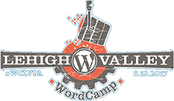WordCamp Lehigh Valley 2017 Logo
