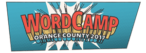 WordCamp Orange County 2017 Logo