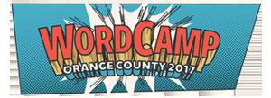 WordCamp Orange County 2017 Logo