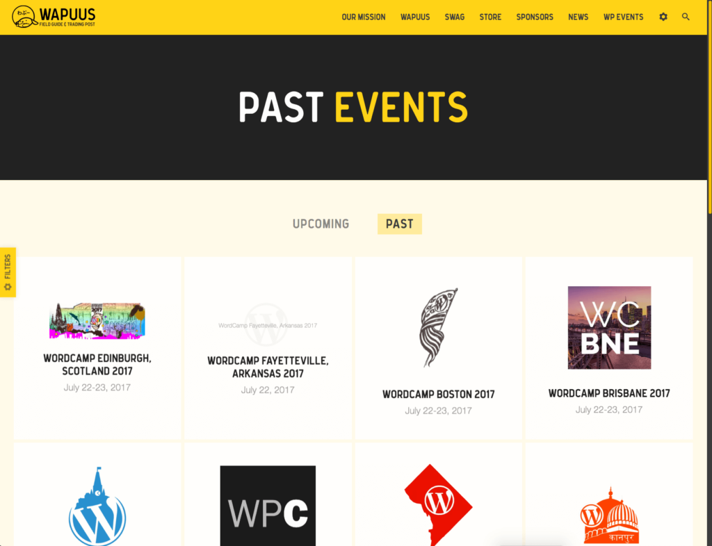 List of WordPress Conference & Events.