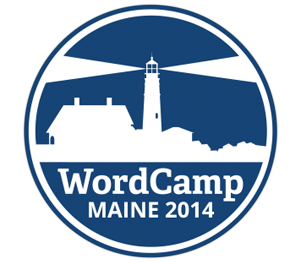 WordCamp Maine 2014 Logo