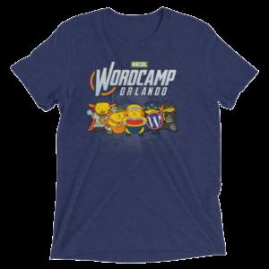 WordCamp Orlando 2017 Color T-Shirt