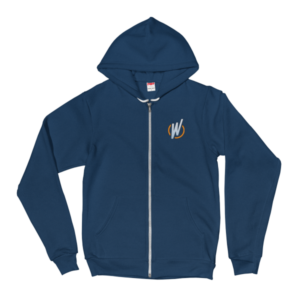 WordCamp Orlando 2017 Double Sided Zip Up Hoodie