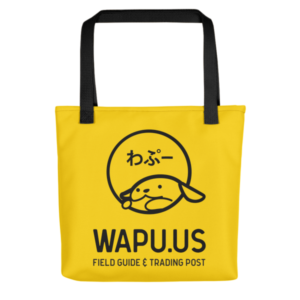 Wapu.us Yellow Tote